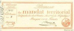100 Francs FRANCE  1796 Muz.65 pr.NEUF