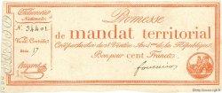 100 Francs FRANCE  1796 Muz.65 SUP