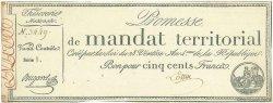500 Francs FRANCE  1796 Muz.67 SPL