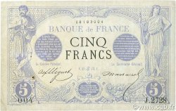 5 Francs NOIR FRANCE  1873 F.01.19 B à TB