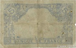 5 Francs BLEU FRANCE  1915 F.02.32 B+
