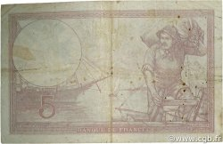 5 Francs VIOLET modifié FRANCE  1939 F.04.01 TB