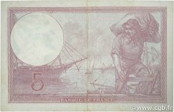 5 Francs VIOLET modifié FRANCE  1939 F.04.03 TTB+