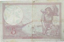 5 Francs VIOLET modifié FRANCE  1939 F.04.10 TTB