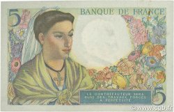 5 Francs BERGER FRANCE  1943 F.05.01 SPL+