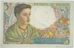 5 Francs BERGER FRANCE  1943 F.05.05 TTB+