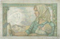 10 Francs MINEUR FRANCE  1941 F.08.01 TB