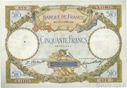 50 Francs LUC OLIVIER MERSON type modifié FRANCE  1932 F.16.03 TB+