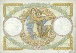 50 Francs LUC OLIVIER MERSON type modifié FRANCE  1934 F.16.05 B+
