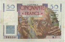50 Francs LE VERRIER FRANCE  1946 F.20.03 TTB+