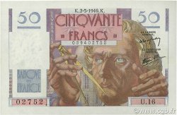 50 Francs LE VERRIER FRANCE  1946 F.20.03 NEUF