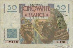 50 Francs LE VERRIER FRANCE  1950 F.20.16 TB