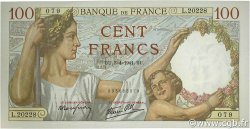100 Francs SULLY FRANCE  1941 F.26.49 pr.NEUF