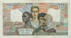 5000 Francs EMPIRE FRANCAIS FRANCE  1945 F.47.12 TTB