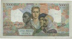 5000 Francs EMPIRE FRANÇAIS FRANCE  1945 F.47.48 TB+