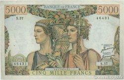 5000 Francs TERRE ET MER FRANCE  1951 F.48.04 TTB+