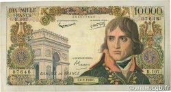 10000 Francs BONAPARTE FRANCE  1958 F.51.11 pr.TTB