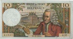 10 Francs VOLTAIRE FRANCE  1963 F.62.06 TTB