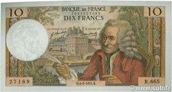 10 Francs VOLTAIRE FRANCE  1971 F.62.49