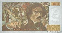 100 Francs DELACROIX modifié FRANCE  1986 F.69.10 SPL+