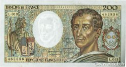 200 Francs MONTESQUIEU FRANCE  1982 F.70.02 SUP
