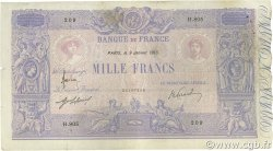 1000 Francs BLEU ET ROSE FRANCE  1913 F.36.27 TB+
