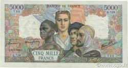 5000 Francs EMPIRE FRANÇAIS FRANCE  1945 F.47.31 SUP