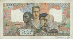 5000 Francs EMPIRE FRANÇAIS FRANCE  1945 F.47.46 TTB