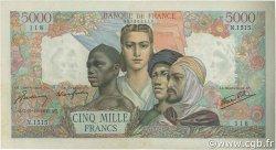 5000 Francs EMPIRE FRANÇAIS FRANCE  1945 F.47.47 TTB+