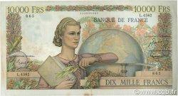 10000 Francs GÉNIE FRANÇAIS FRANCE  1953 F.50.64 TTB
