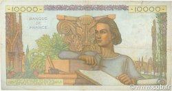10000 Francs GÉNIE FRANÇAIS FRANCE  1954 F.50.70 TB+