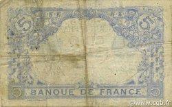 5 Francs BLEU FRANCE  1915 F.02.24 pr.TB