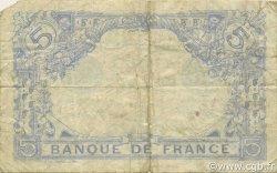 5 Francs BLEU FRANCE  1915 F.02.28 TB