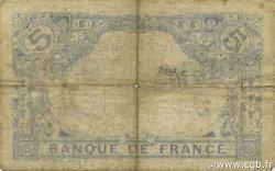5 Francs BLEU FRANCE  1915 F.02.29 pr.TB