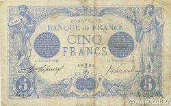 5 Francs BLEU FRANCE  1916 F.02.36 TB à TTB