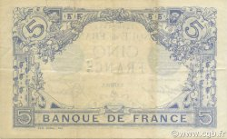 5 Francs BLEU FRANCE  1916 F.02.42 TTB