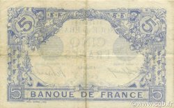 5 Francs BLEU FRANCE  1916 F.02.43 TTB+