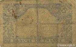 5 Francs BLEU FRANCE  1916 F.02.44 AB