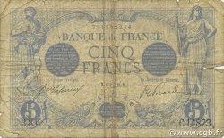 5 Francs BLEU FRANCE  1916 F.02.45 B