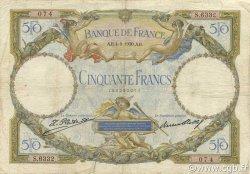 50 Francs LUC OLIVIER MERSON type modifié FRANCE  1930 F.16.01 B
