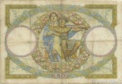 50 Francs LUC OLIVIER MERSON type modifié FRANCE  1933 F.16.04 B+