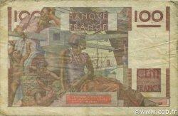 100 Francs JEUNE PAYSAN filigrane inversé FRANCE  1952 F.28bis.01 pr.B