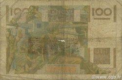 100 Francs JEUNE PAYSAN filigrane inversé FRANCE  1953 F.28bis.03 AB