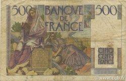 500 Francs CHATEAUBRIAND FRANCE  1946 F.34.04 B