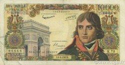 10000 Francs BONAPARTE FRANCE  1957 F.51.08 TB