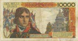 10000 Francs BONAPARTE FRANCE  1957 F.51.09 B+