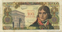 100 NF sur 10000 Francs BONAPARTE FRANCE  1958 F.55.01 pr.TB