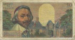 10 Nouveaux Francs RICHELIEU FRANCE  1960 F.57.08 B à TB