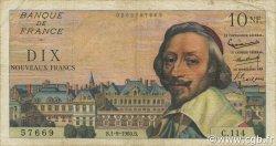 10 Nouveaux Francs RICHELIEU FRANCE  1960 F.57.10 TB