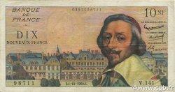 10 Nouveaux Francs RICHELIEU FRANCE  1960 F.57.12 TB